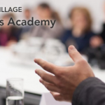 "Mikael Wahlgren is talking about ""Legal Housekeeping"" at Medicon Village Business Academy on December 12, 2019"
